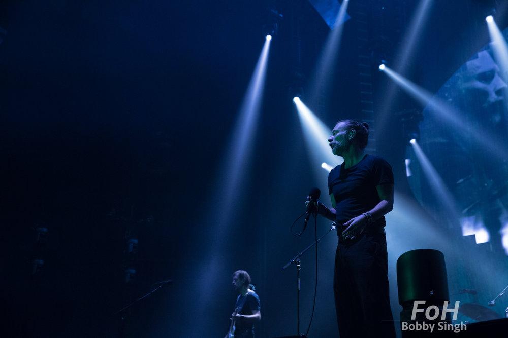 Ed O'Brien and Thom Yorke - Radiohead, Toronto, CANADA.