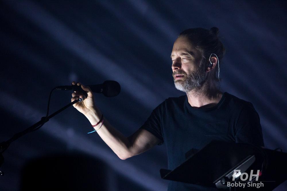 Thom Yorke - Radiohead, Toronto, CANADA.