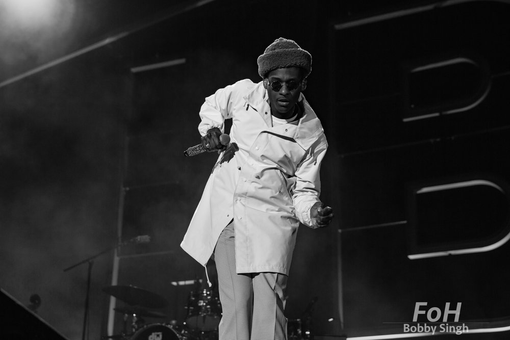 Leon Bridges in concert at RBC Echo Beach, Toronto, Canada - 27 Sept 2018