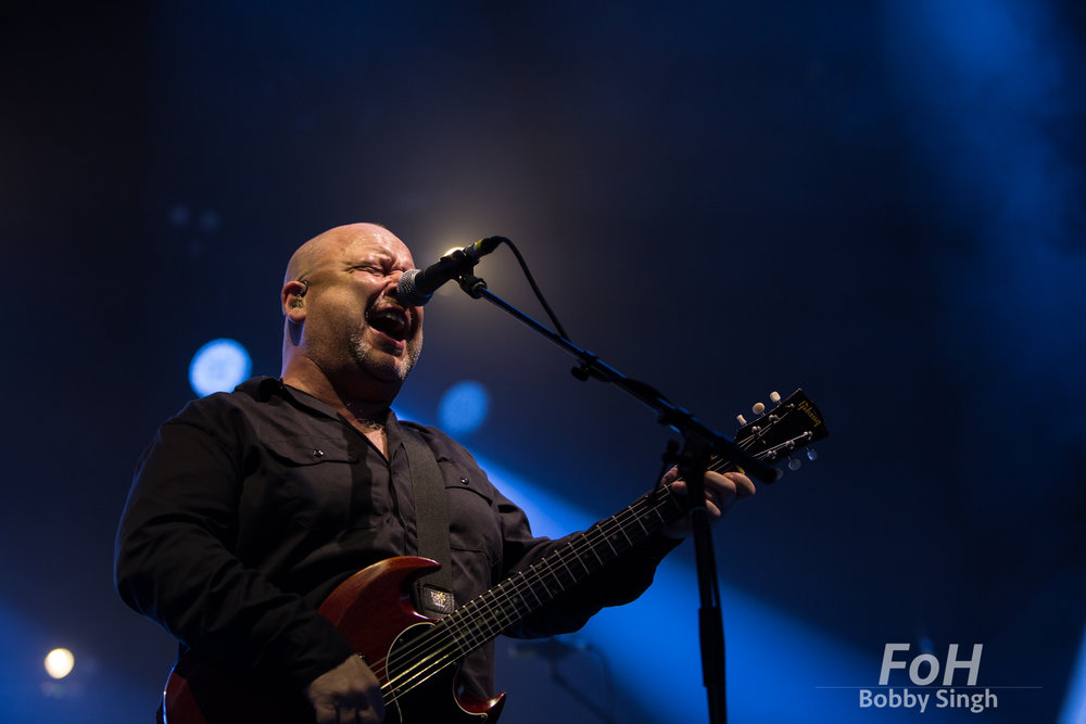 Toronto, CANADA. 14th July, 2018. Frank Black of Pixies performing at Budweiser Stage in Toronto