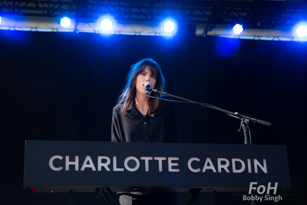 Charlotte Cardin performs at the 2018 Field Trip Music & Arts Festival in Toronto.