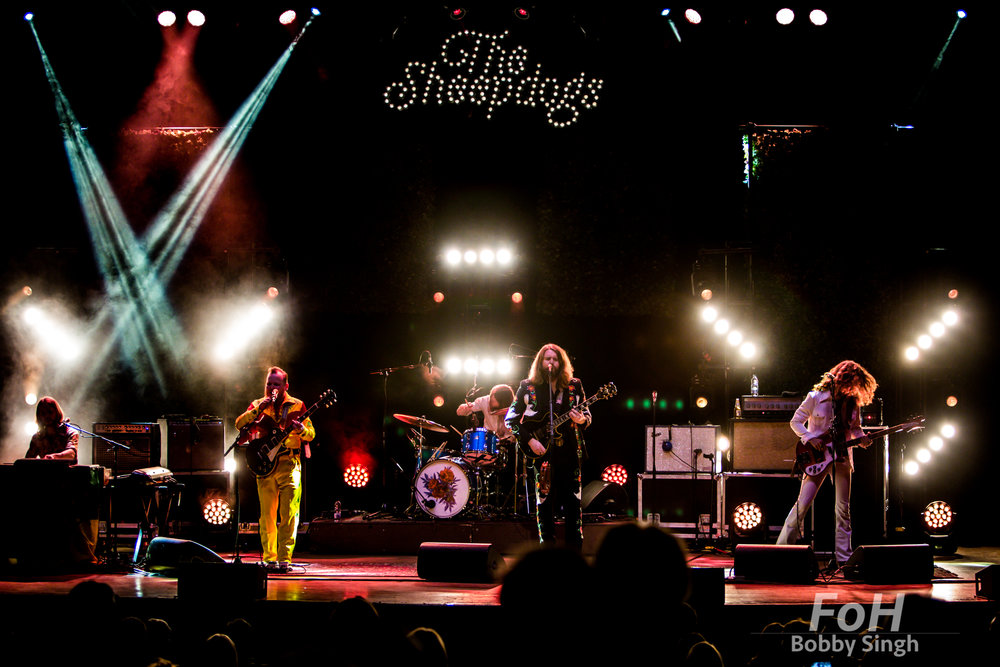 The Sheepdogs performing at Massey Hall. Bobby Singh/@fohphoto