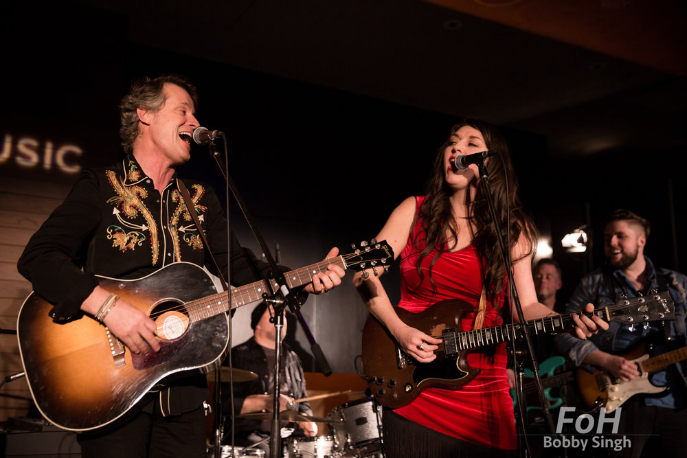 Vancouver, CANADA. 26th March, 2018. perform at CBC Playlist Live at the Parq Hotel in Vancouver. Credit: Bobby Singh/Alamy Live News