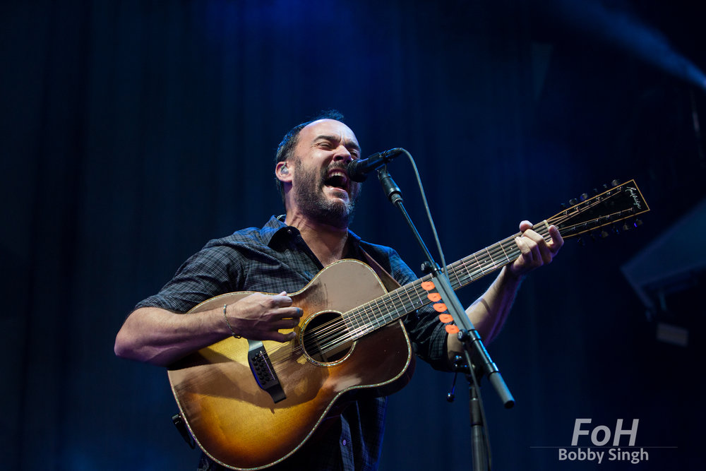 Dave Matthews Band performs in Toronto. Photo by Bobby Singh/@fohphoto