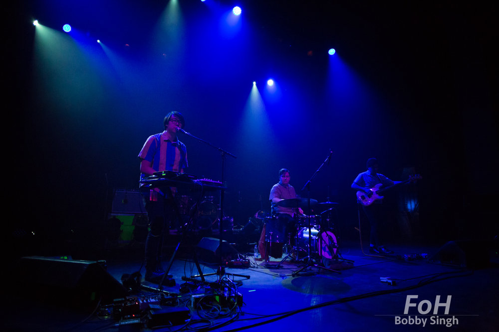 Ginger Root performing at Danforth Music Hall