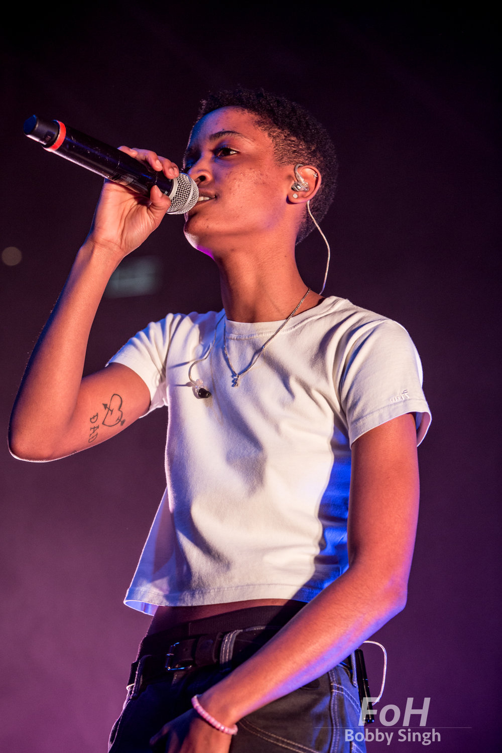 Toronto, CANADA. 09th, December 2018. The Internet Lead singer Syd Tha Kyd (Sydney Bennett) performs at Rebel Nightclub