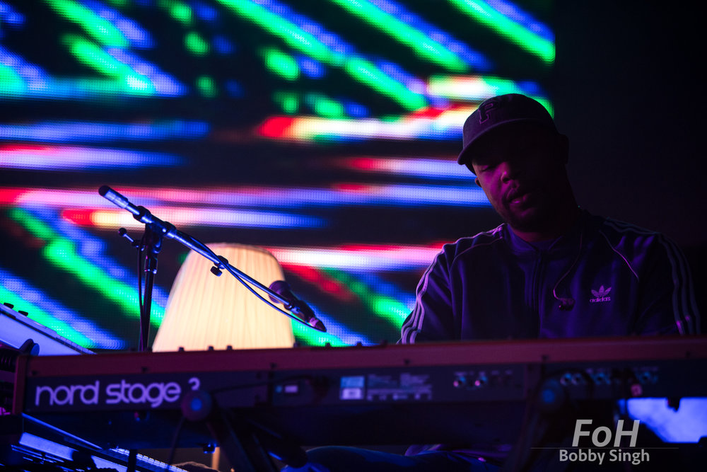 Toronto, CANADA. 09th, December 2018. The Internet keyboardist Tay Walker performs at Rebel Nightclub