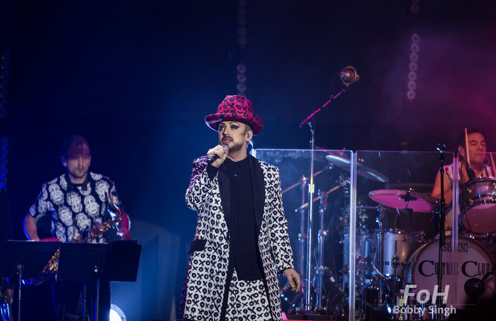 November 2nd, 2016: Toronto, ON, Canada - The original members of Culture Club reunite for an extensive world tour.  Boy George and orignal members Roy Hay, Mikey Craig and Jon Moss