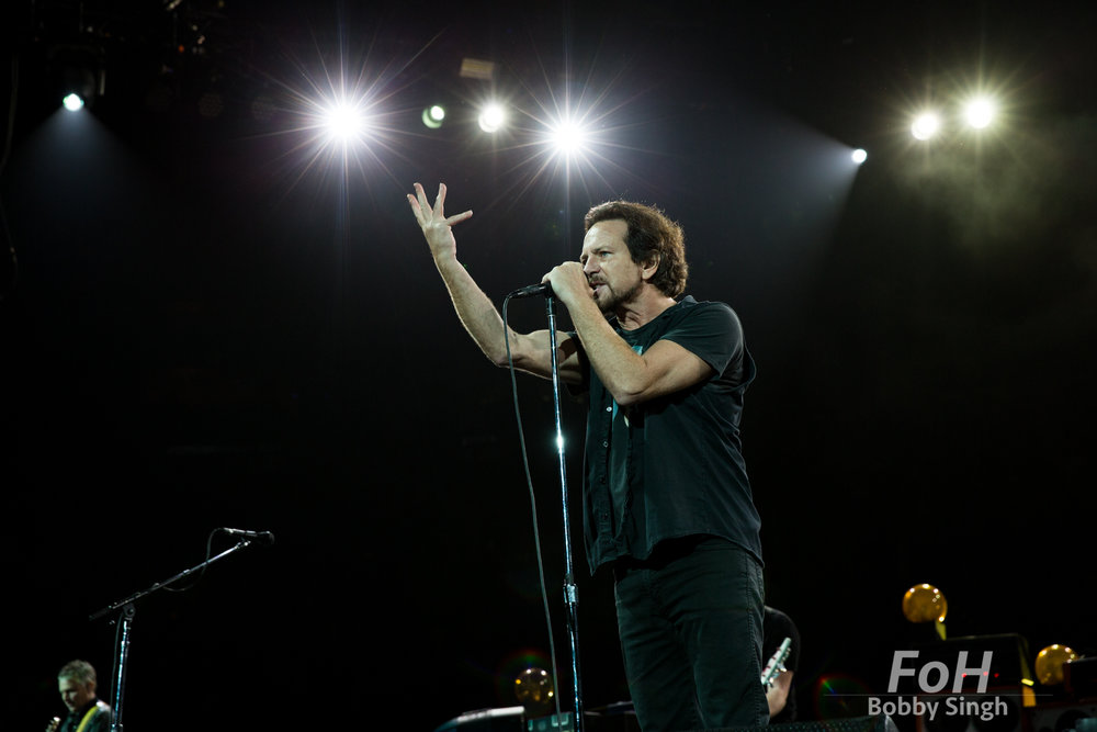 TORONTO, CANADA - MAY 10 - Pearl Jam performs at The Air Canada Centre in Toronto