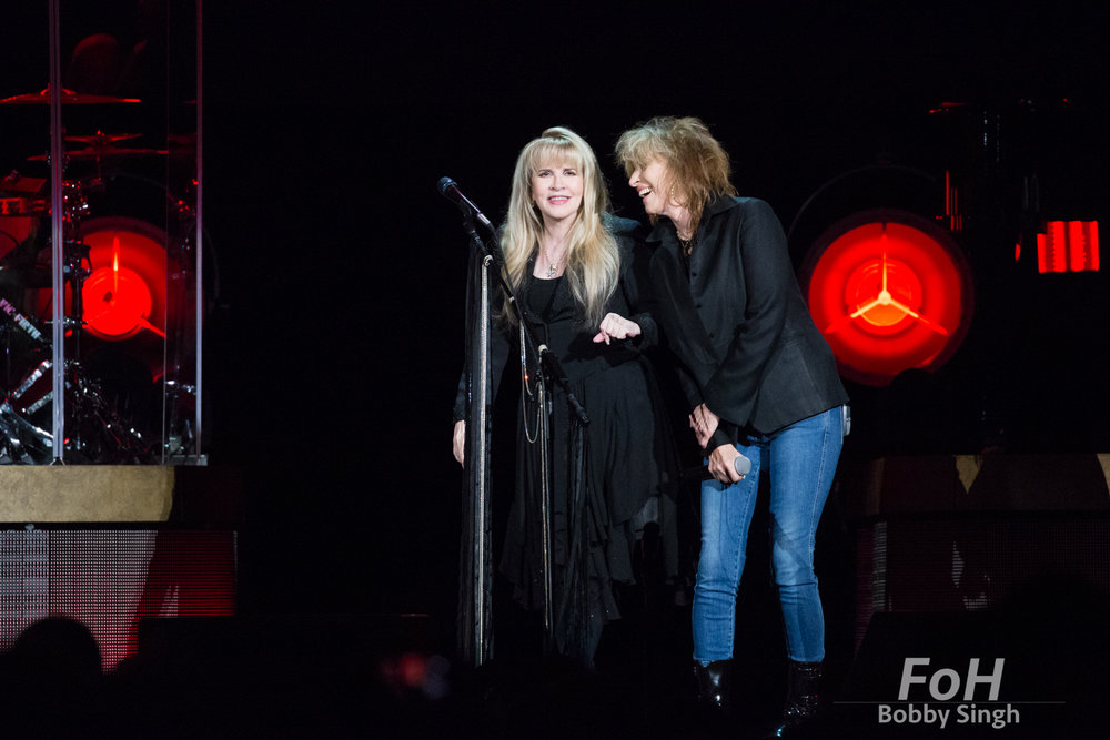 Stevie Nicks performs in Toronto on her 24 Karat Gold Tour