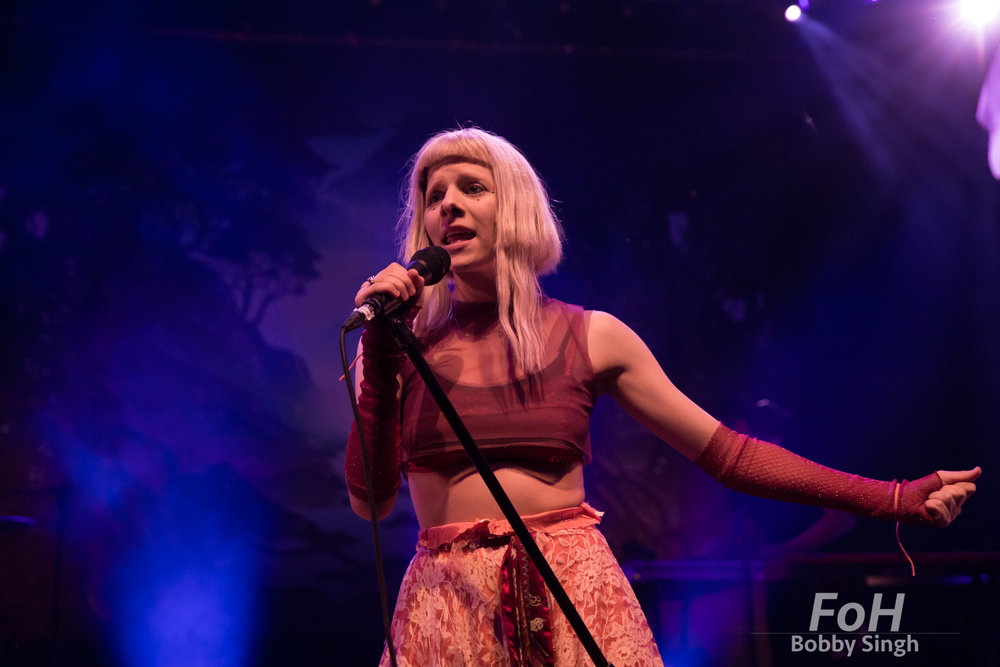 Norwegian pop singer AURORA performs at The Danforth Music Hall
