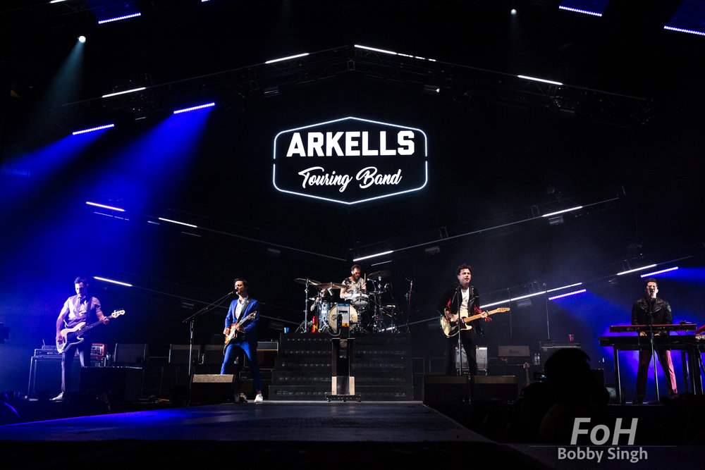 Arkells perfom at Scotiabank Arena, Toronto
