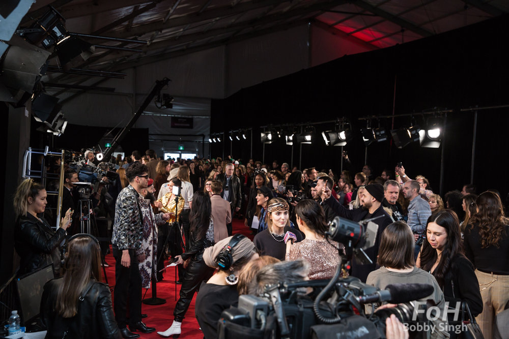 The 2019 JUNO Awards red carpet at Budweiser Gardens, in London, Ontario, CANADA