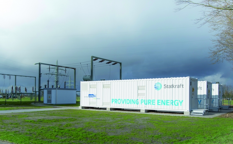 One of the containers at the Dörverden hydro plant. Source: ads-tec.