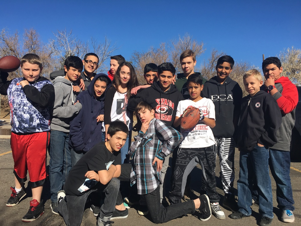 Middle School Football Team