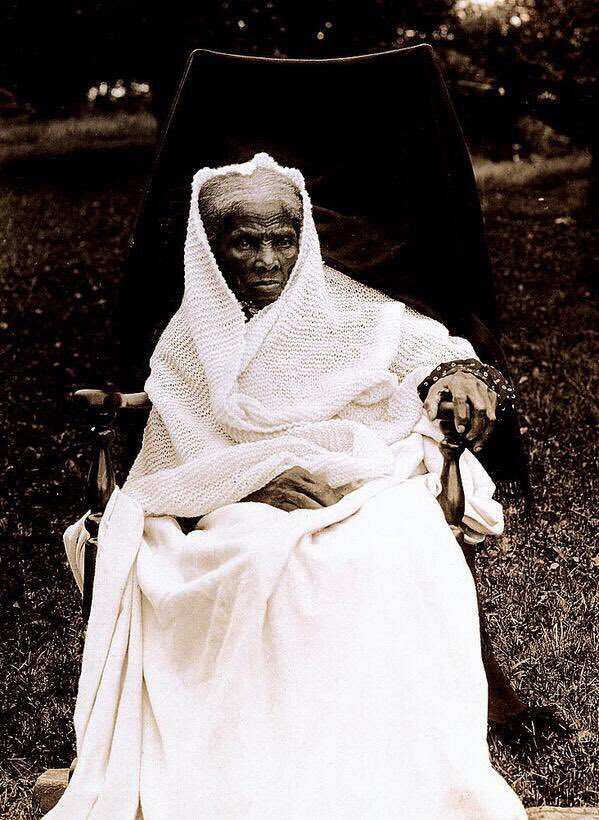 Harriet Tubman, as she appeared on US postage stamp