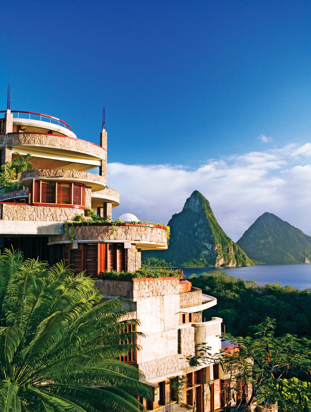 Jade Mountain, Saint Lucia