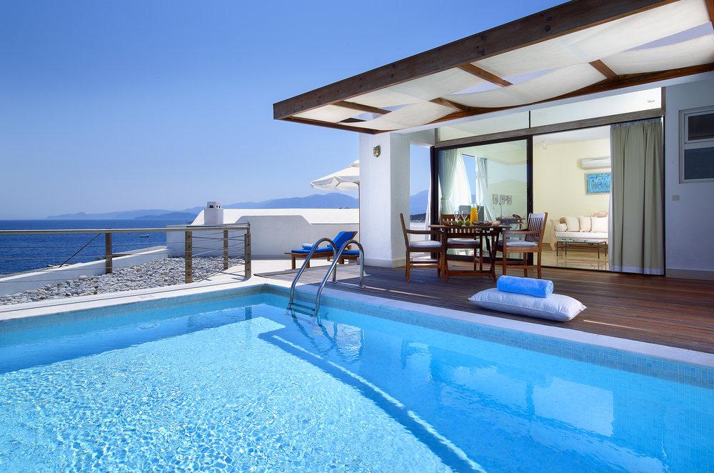 St Nicholas Bay. Crete