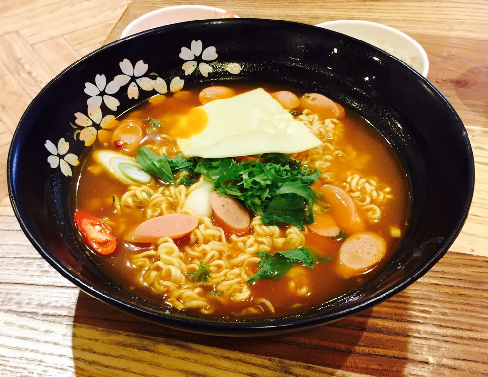 Ham & cheese ramen was a new one for me and truth be told, delicious