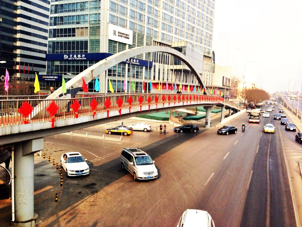 It's Chinese New Year, why not decorate the bridge?
