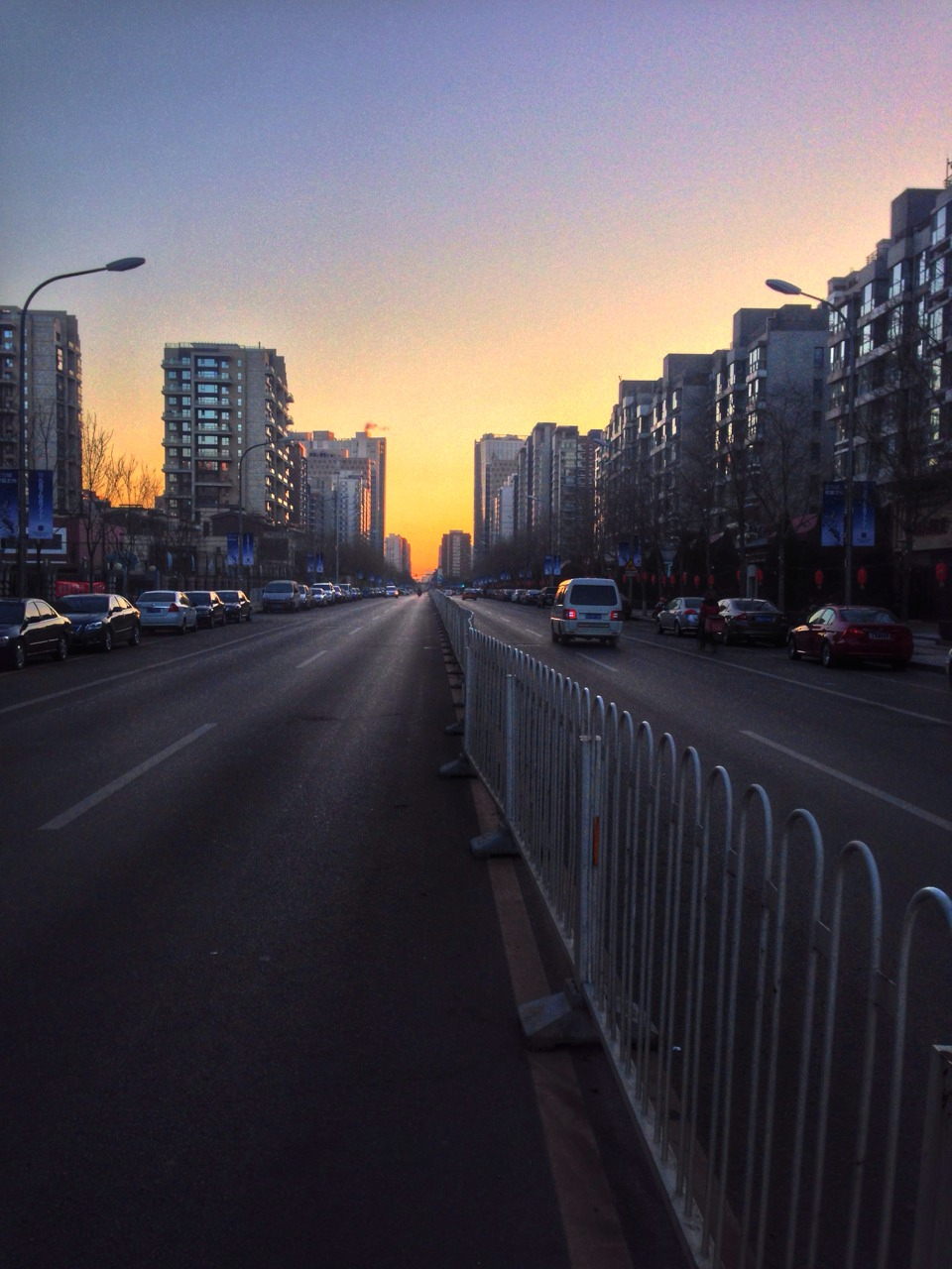 Sunday morning in Beijing
