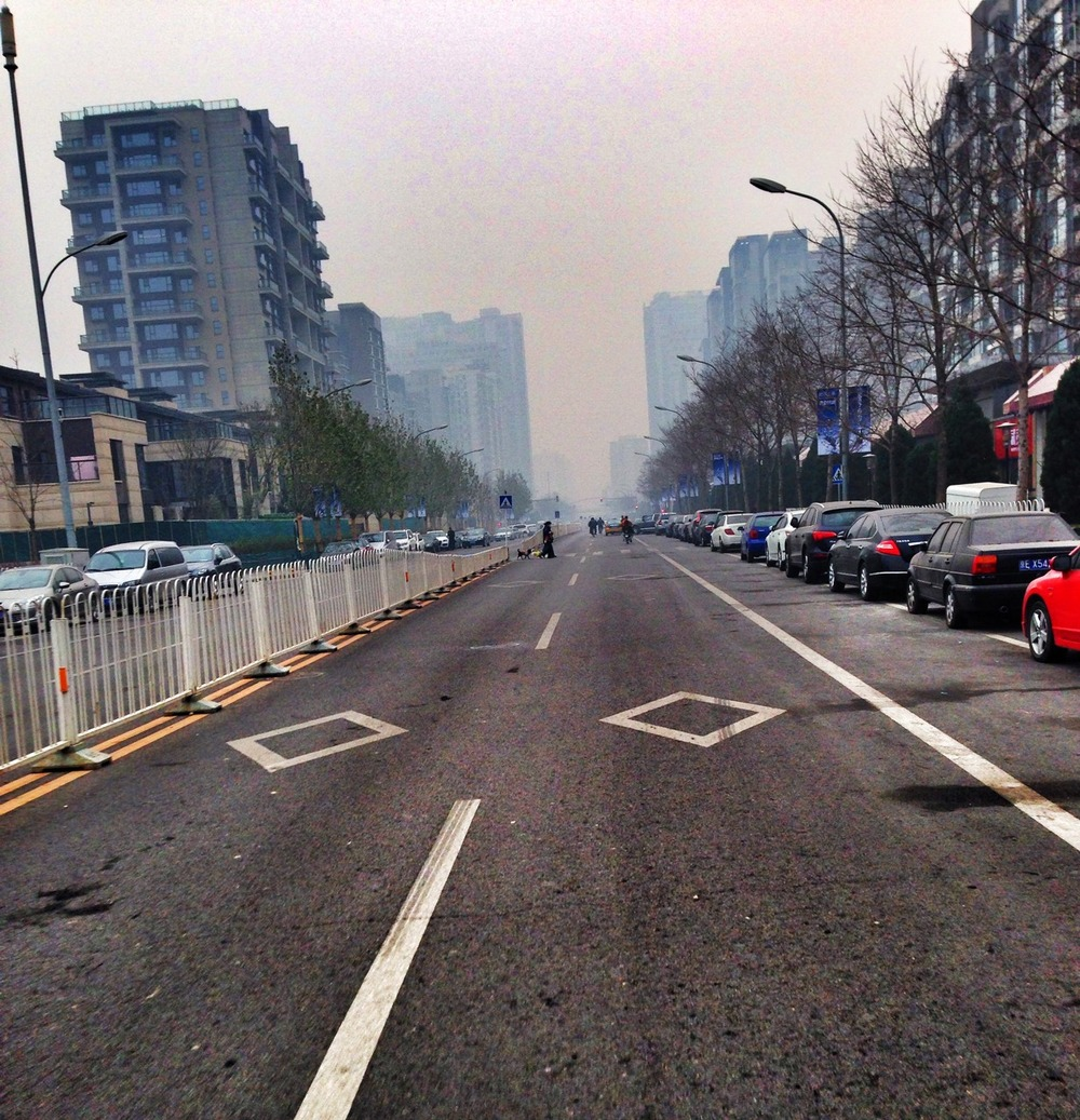 Riding a Fixie, this is where I fear for my life, the streets of Beijing