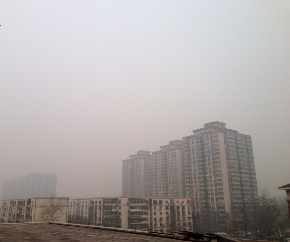 It's baaaad today. This is what 396/500 on the AQI looks like