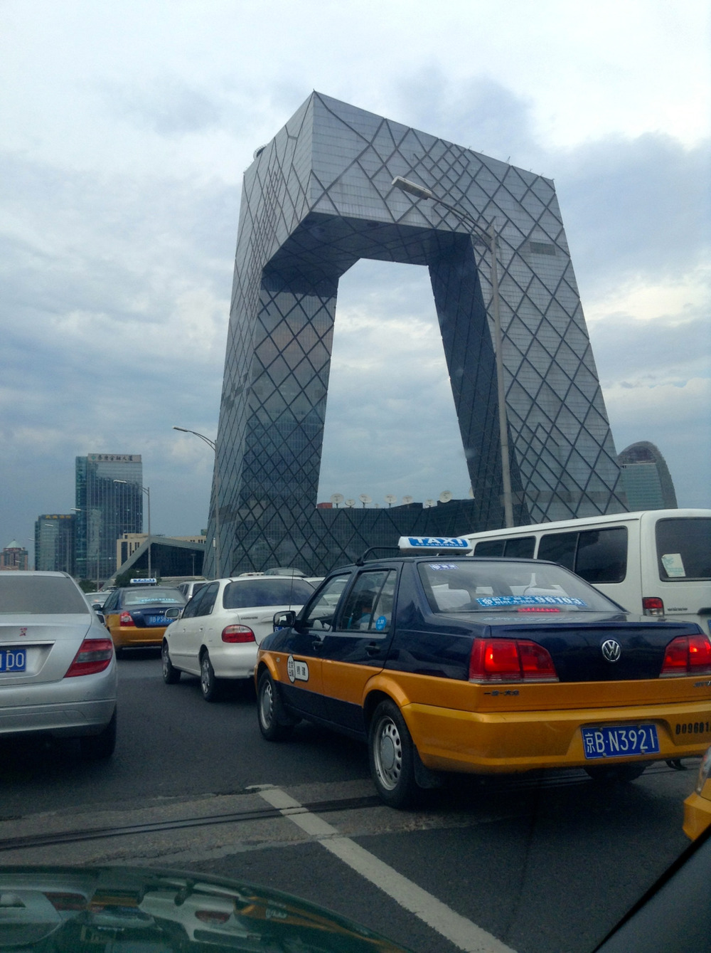 This is one of my favorite buildings in China. I've yet to go inside, but it's on my to do list.