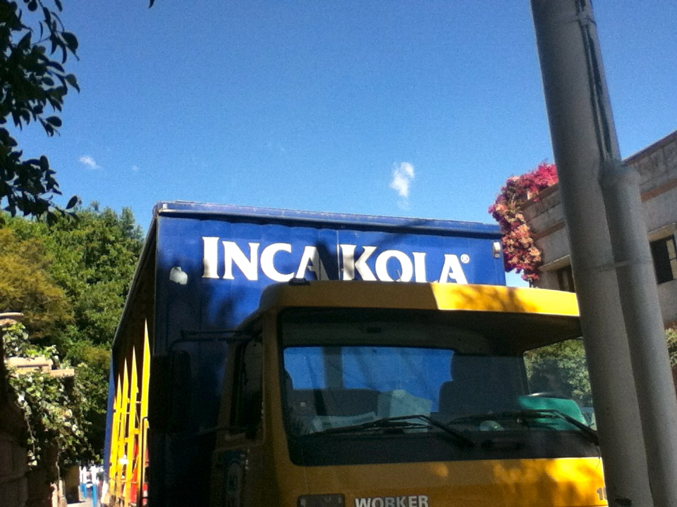 """Inca Kola: A principal food group in any Peruvian's diet   Knife in hand, I gaze upon the 18 'paltas' in front of me wondering yet again how I landed myself in this situation. """"Guacamole for 30 people? Ya, no problem!"""" Ah, my big mouth. At this point in my life, I shouldn't be surprised, and as I prepare for the task that awaits I can't help but shake my head and laugh. I quickly sharpen my blade, crank up the reggaeton, and head towards the cutting board like an executioner anxious for work. Long live guacamole."""
