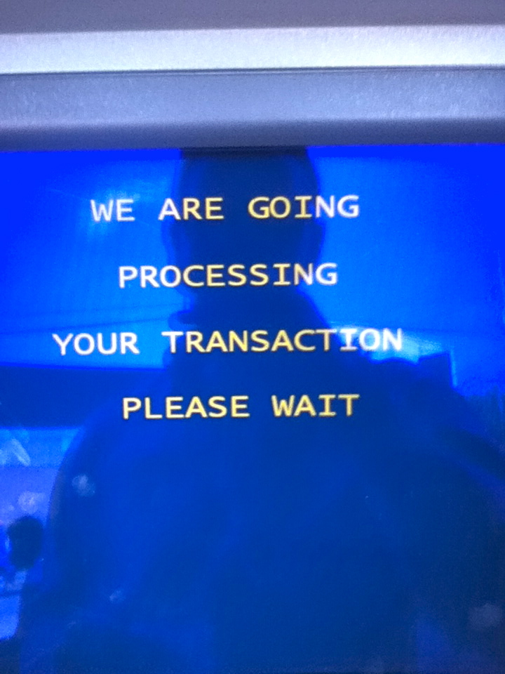 Peruvian ATM's: English is clearly their 2nd language