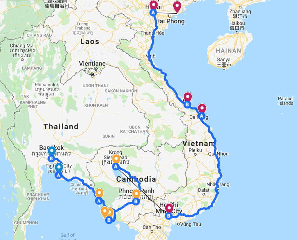 Travel in Southeast Asia for 2019