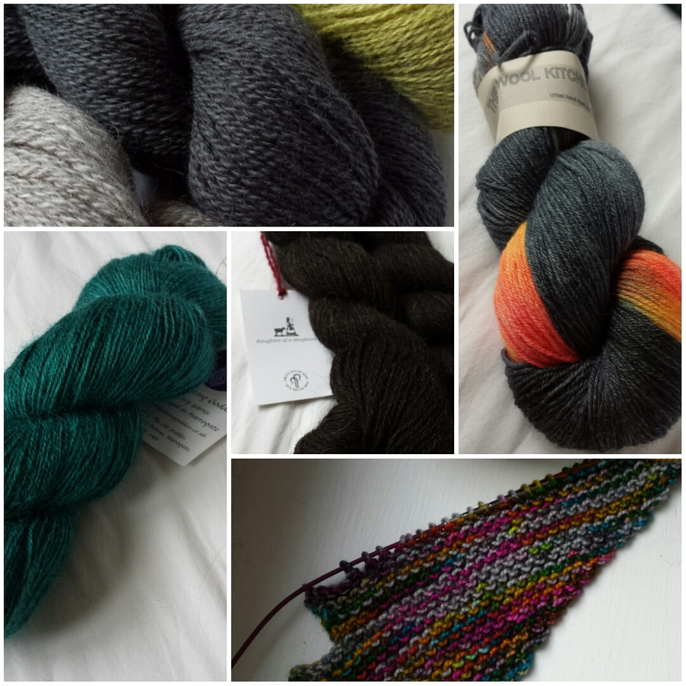 A modest yarn haul from Edinburgh Yarn Festival 2016