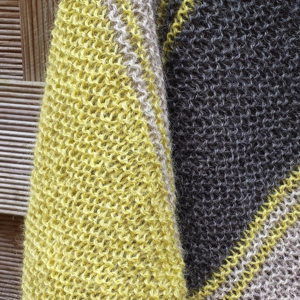 Plenty of garter stitch goodness...