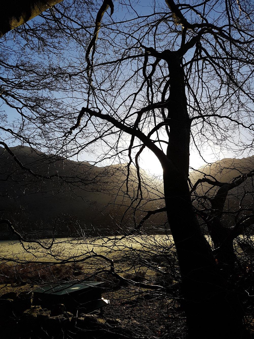 Winter morning in Seatoller, Cumbria