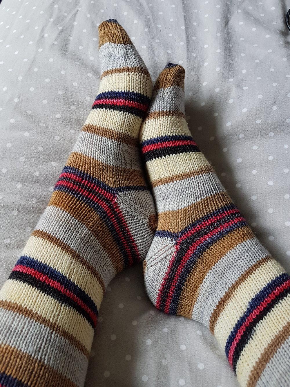 Socks Vs Sleeves Louise Tilbrook Designs