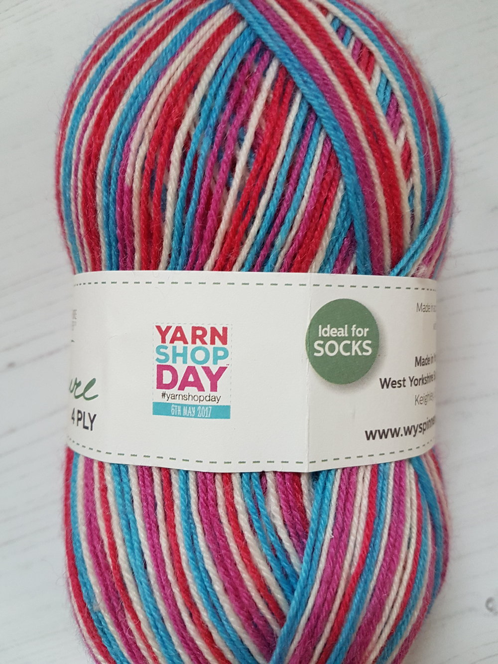 Limited edition LYS Colourway from West Yorkshire Spinners