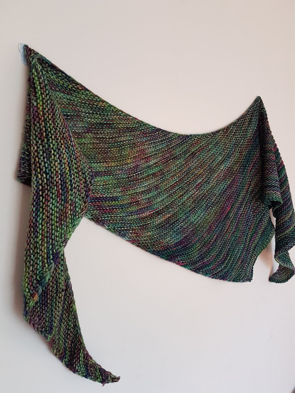 How To Create A Slipped Stitch Shawl Edge Louise Tilbrook Designs
