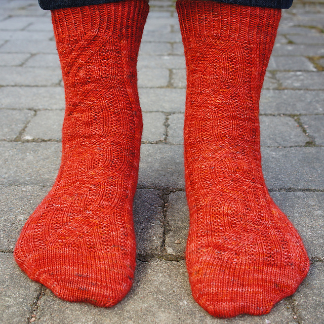 Precious Metals Socks - photo by kind permission of Anna-Maja (agrajag42 on Ravelry)