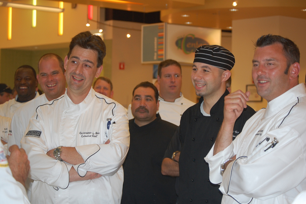 Northeast Regional Culinary Team, Chef Chris Bee, Chef Matthew Thompson, Chef Walter Dunphy
