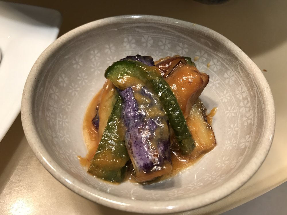Stirfried Miso Eggplant