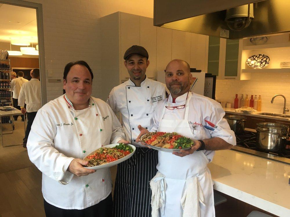 Chefs Jasper, Matthew & Brock