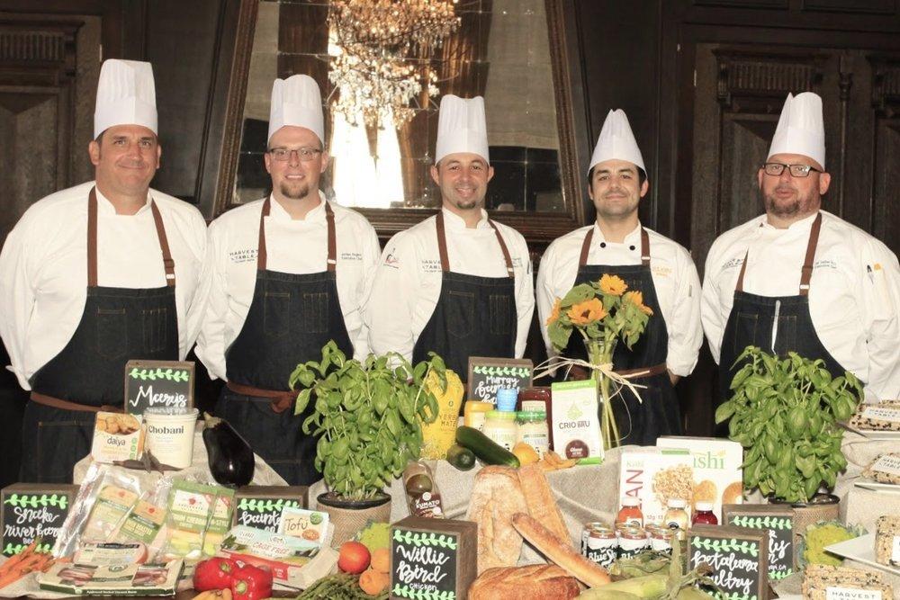 Chefs Jermery Joy, Jordan Rogers, Matthew Thompson, Adam Neill &Jay Vetter