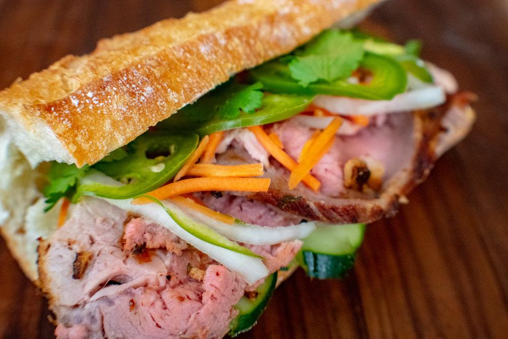 Pork Bánh mì Sandwich