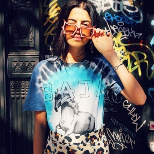 The Man Repeller's Leandra rocking our Freedom tee.