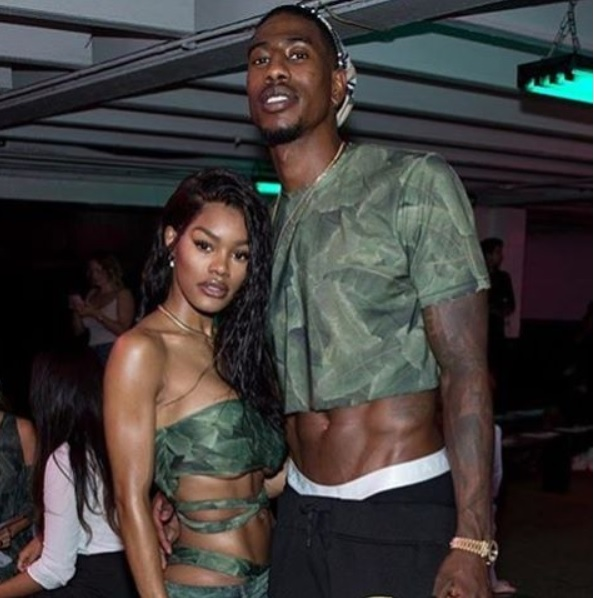 Teyana Taylor and Iman Shumpert serving BAJA BODY at our SS17 show.