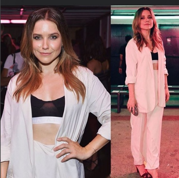 Sophia Bush SLAYING at our SS17 show.