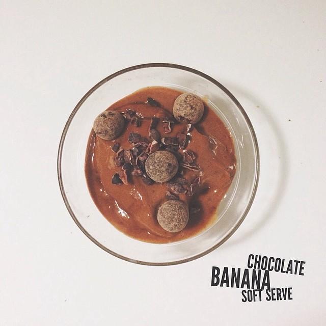 Chocolate Soft Serve