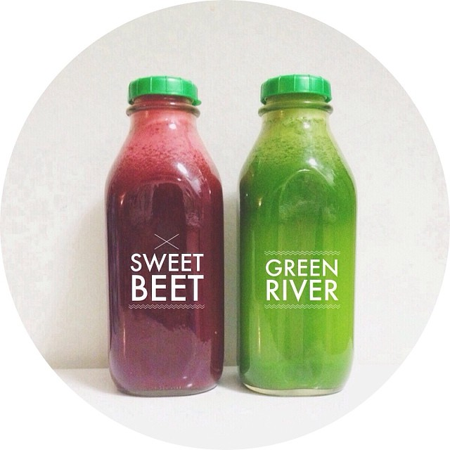 Sweet Beet & Green River
