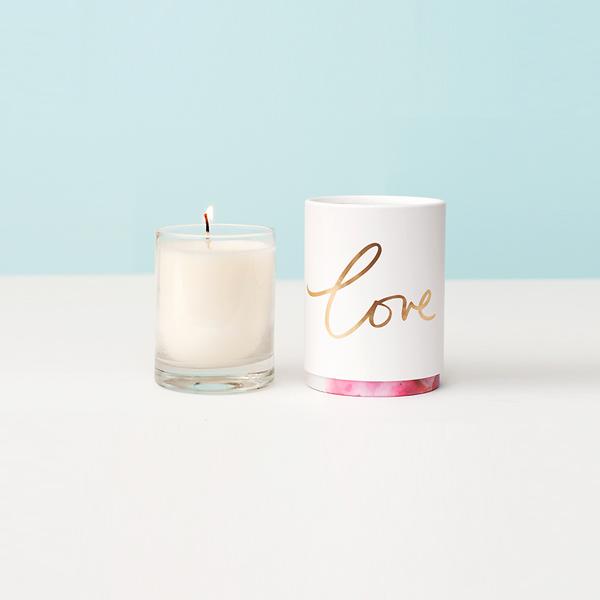 Tridoshic votive candle
