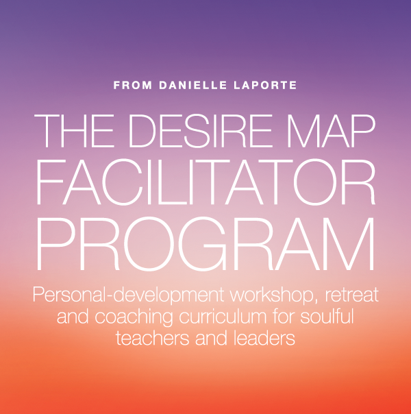 The Desire Map Facilitator Program